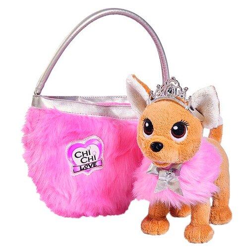 Мягкая игрушка Simba Chi chi love Собачка принцесса с сумкой и накидкой 20 см chi luxury black seed oil curl defining cream gel