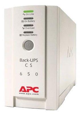 Резервный ИБП APC by Schneider Electric Back-UPS BK650EI