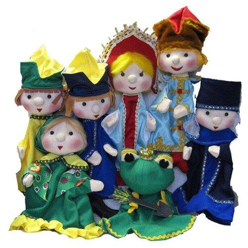 Тайга Набор перчаточных кукол Царевна-лягушка (4015)