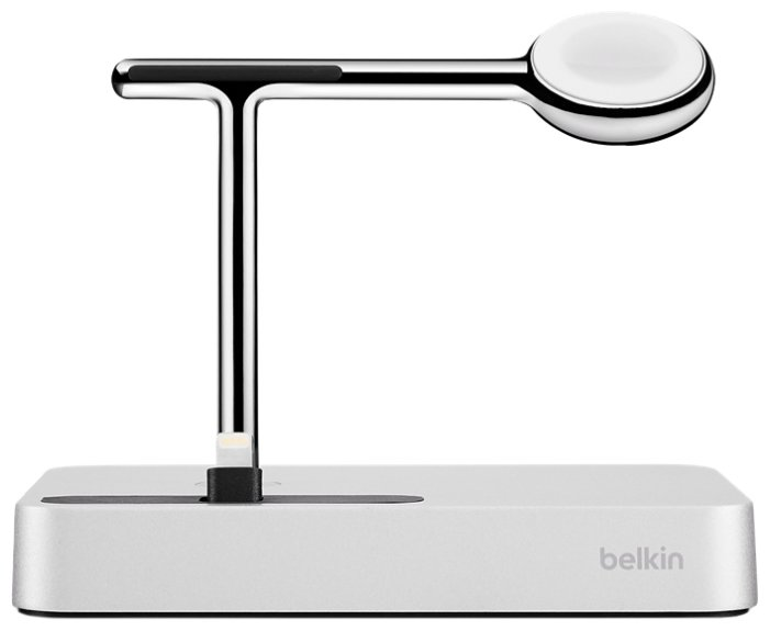 Док-станция универсальная Belkin Valet Charge Dock for Apple Watch + iPhone