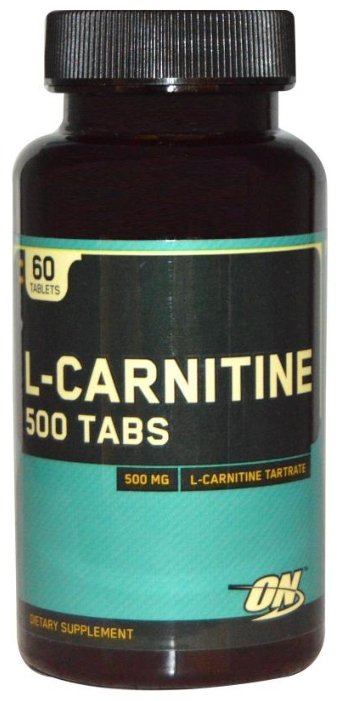 Optimum Nutrition L-карнитин 500 мг (60 шт.)