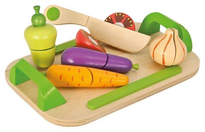 Набор продуктов с посудой Eichhorn Доска с овощами 100003722 фото 1