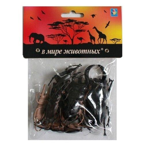 Купить Фигурки 1 TOY В мире животных - Жуки Т10491, Игровые наборы и фигурки