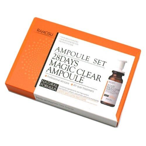 Ramosu 28 Days Magic Clear Ampoule Сыворотка для лица с витамином С, 7 мл (3 шт.)