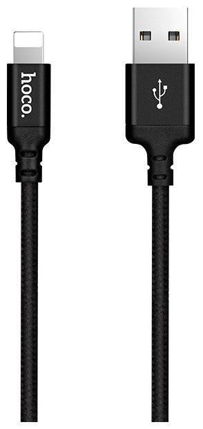 Кабель Hoco X14 Times speed USB - Lightning 1 м черный фото 1