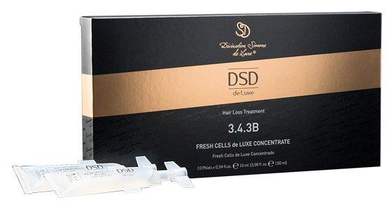 Divination Simone DeLuxe 3.4.3B HAIR LOSS TREATMENTS Концентрат для кожи головы Фреш целлс Де Люкс