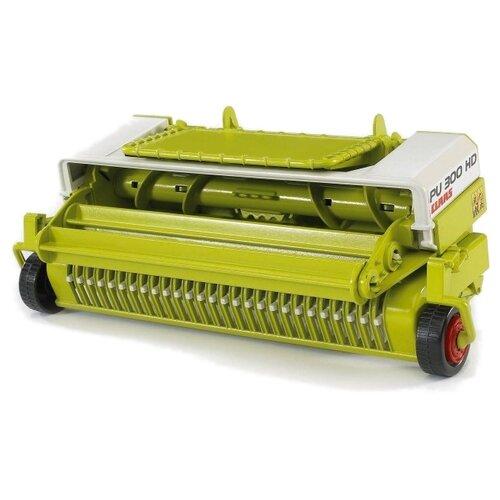 Купить Кормоуборочная машина Bruder Claas PU 300 HD 02325 зеленый, Комплектующие и аксессуары для машинок и радиоуправляемых моделей