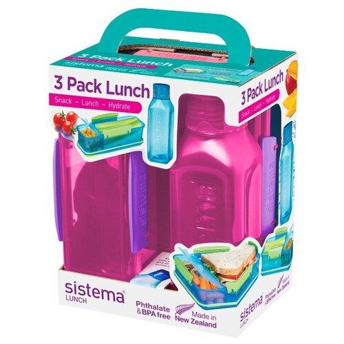 Sistema Набор для ланча Lunch 1595 красный