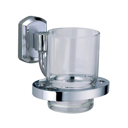 Стакан для зубных щеток WasserKRAFT Oder K-3028 хром/прозрачный