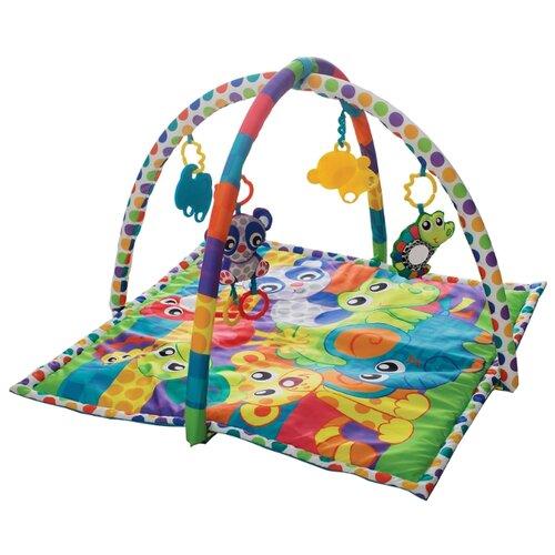 Развивающий коврик Playgro Друзья-животные (0185477) playgro щенок 0185471