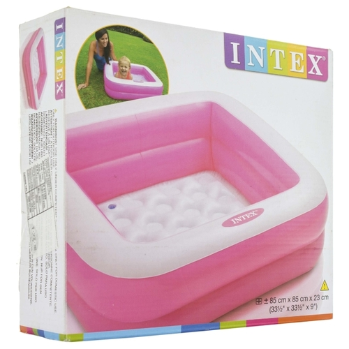 Детский бассейн Intex Play Box Inflatable Square 57100