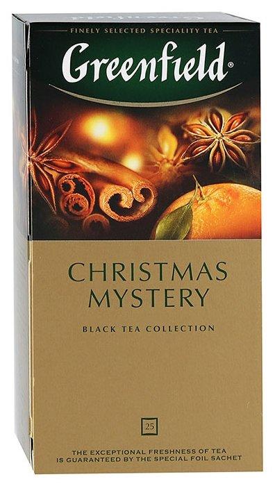 Чай черный Greenfield Christmas Mystery в пакетиках — купить и выбрать из более, чем 7 предложений по выгодной цене на Яндекс.Маркете