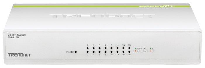 TRENDnet Коммутатор TRENDnet TEG-S16D