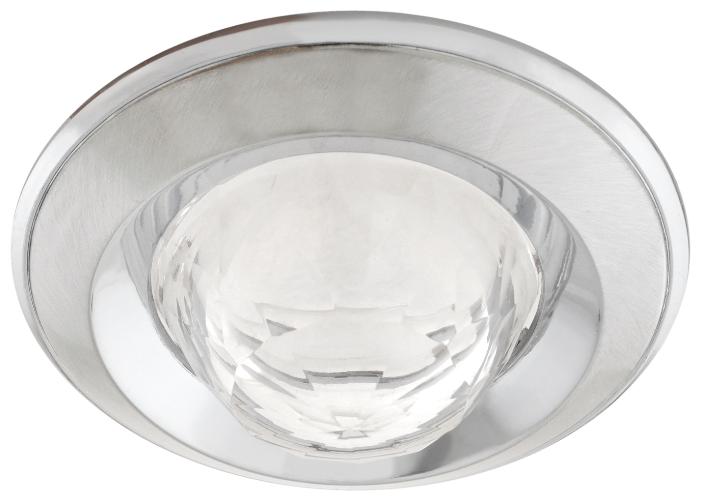 Встраиваемый светильник De Fran FT 103 WA SCHCH, сатин-хром / хром / белый