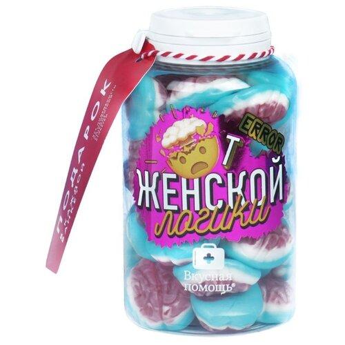 конфеты вкусная помощь от повседневного стресса 250 мл Мармелад Вкусная помощь От женской логики 235 г
