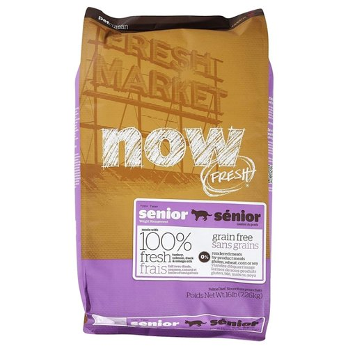 Корм для кошек NOW FRESH Grain Free Senior Cat Food Recipe (7.26 кг)Корма для кошек<br>