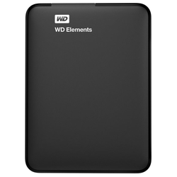 Внешний HDD Western Digital WD Elements Portable 1 TB (WDBUZG0010BBK-WESN)