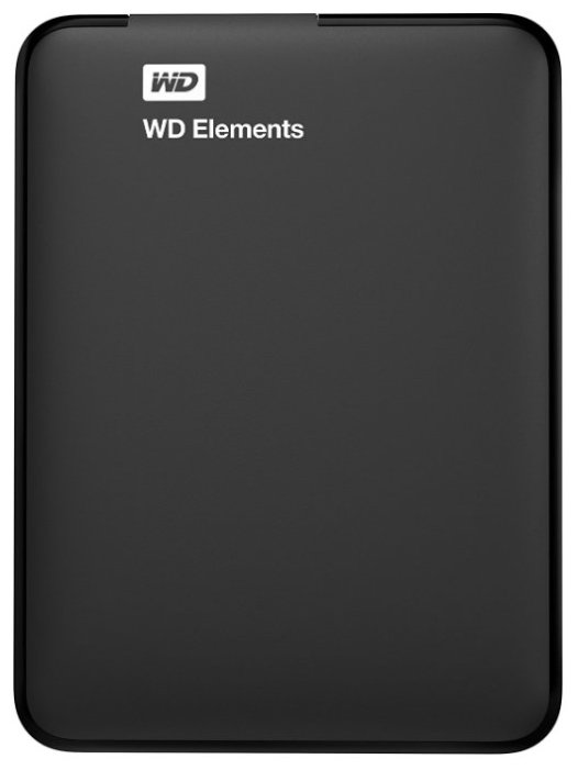 Внешний жесткий диск Western Digital WD Elements Portable 1 TB (WDBUZG0010BBK-WESN)