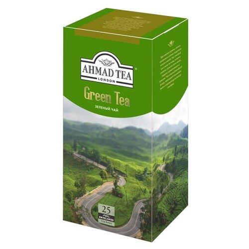 Чай зеленый Ahmad tea в пакетиках