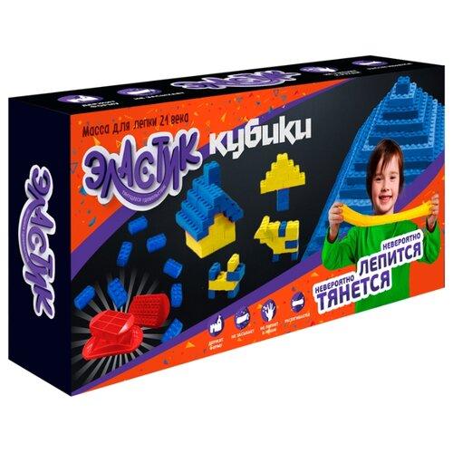 Масса для лепки Эластик Кубики 360 гр (PE0421) масса для лепки эластик candy