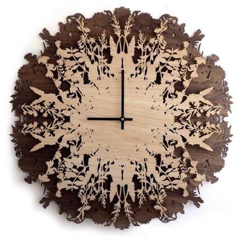 Часы настенные кварцевые Roomton Ботаника 003/60/NT