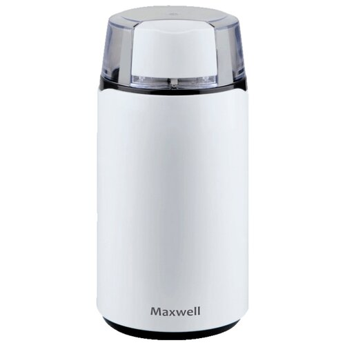 Фото - Кофемолка Maxwell MW-1703, белый кофемолка