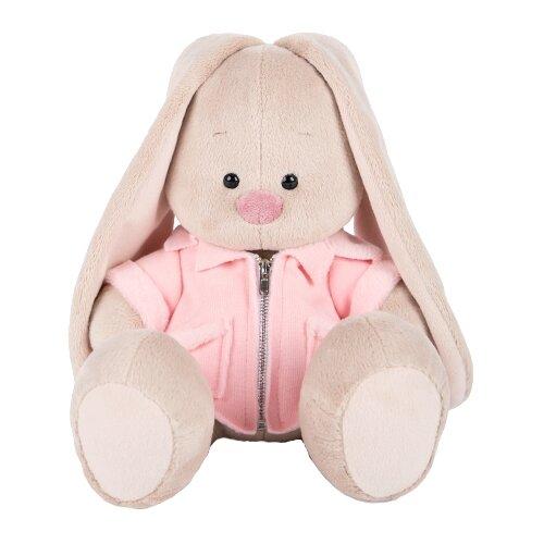 Купить Мягкая игрушка Зайка Ми в розовой меховой курточке 23 см, Мягкие игрушки