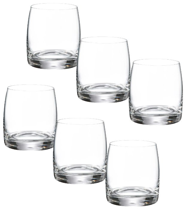 Bohemia Crystal Набор стаканов для виски Идеал 290 мл 6 шт