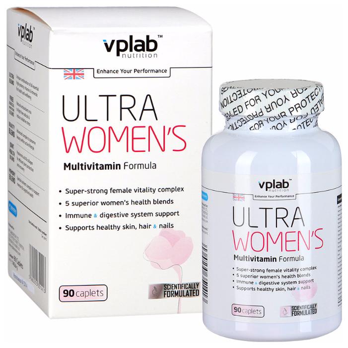 Минерально-витаминный комплекс VP Laboratory Ultra Women's (90 каплет)