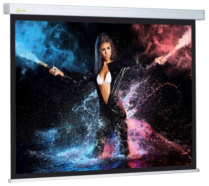 Экран Cactus CS-PSW-168X299 Wallscreen 16:9 настенно-потолочный рулонный белый