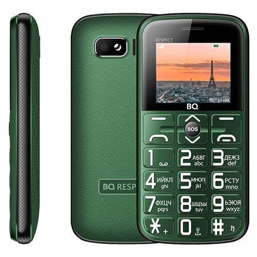 Телефон BQ 1851 Respect зеленый