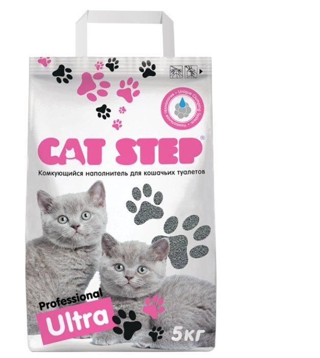 Комкующийся наполнитель Cat Step Professional Ultra 5 кг