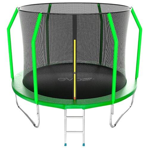 Каркасный батут EVO Jump 10FT Cosmo 305х305х254 см green