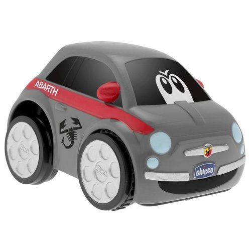 Купить Машинка Chicco Turbo Touch Abarth 500 (00007331000000) серый, Машинки и техника