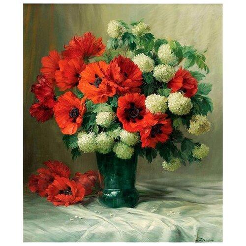 Купить Белоснежка Картина по номерам Маки и снежные шары 30х40 см (305-AS), Картины по номерам и контурам