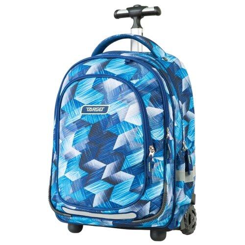 Target Рюкзак-тележка Allover 2 (21427), голубой target рюкзак тележка скейтер