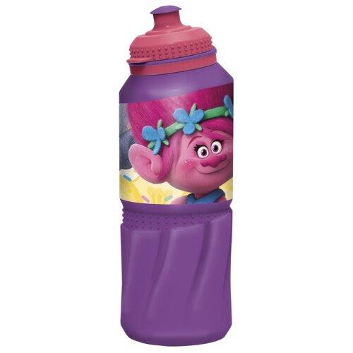 Бутылка для воды, для безалкогольных напитков Stor спортивная 0.53 пластик Тролли