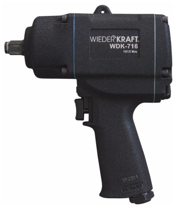 Пневмогайковерт ударный WIEDERKRAFT WDK-716