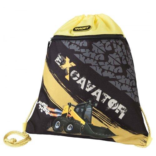 Target Сумка для детской сменной обуви Экскаватор (17966) черный/желтый equestria girls сумка для сменной обуви go team