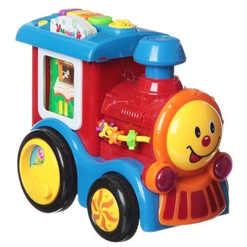 Купить Интерактивная развивающая игрушка Zhorya Веселый паровозик (ZY255174) разноцветный, Развивающие игрушки