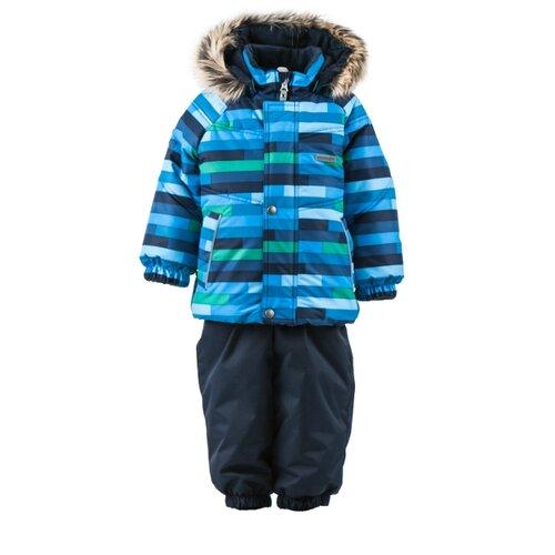 Комплект с полукомбинезоном KERRY размер 80, 2299 синийКомплекты верхней одежды<br>