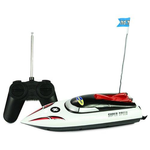 Купить Катер Mioshi Tech Скорость-X24 (MTE1205-018) 24 см белый, Радиоуправляемые игрушки
