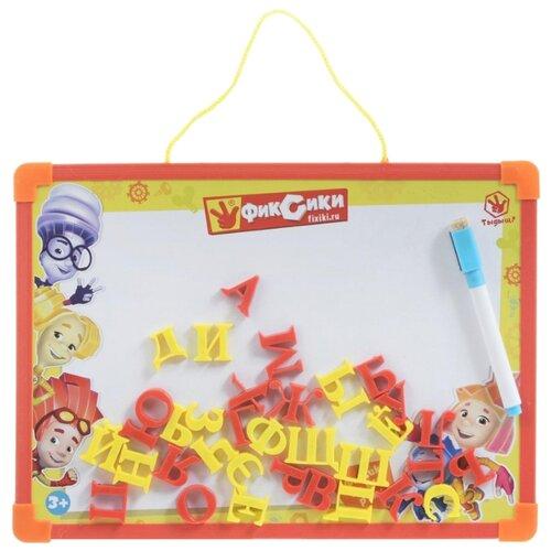 Доска для рисования детская Играем вместе Фиксики с русскими буквами (L787-H27560-FIX) красныйДоски и мольберты<br>