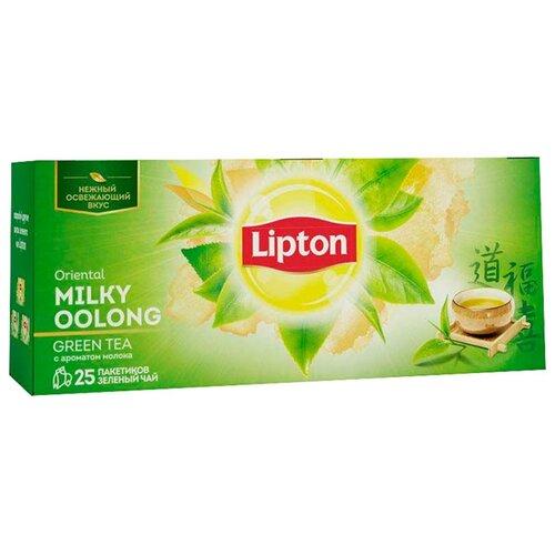 Чай улун Lipton Oriental Milky Oolong в пакетиках , 25 шт. чай улун basilur oriental collection white moon в пакетиках 25 шт