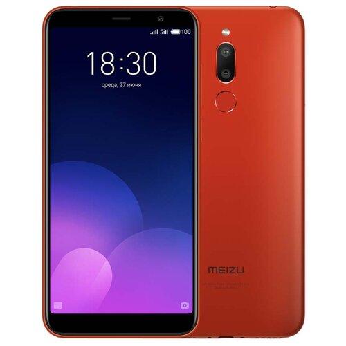 Смартфон Meizu M6T 3/32GB красный смартфон meizu m5с 16gb gold