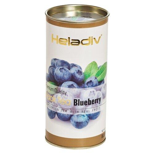 Фото - Чай черный Heladiv Premium Quality Black Tea Blueberry, 100 г чай heladiv hq green tea 100 пак