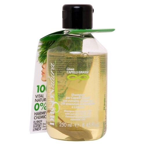 Dikson шампунь DiksoNatura Capelli Grasi для жирных волос с экстрактом лимона 250 мл dikson grassi шампунь с лимоном для жирных волос 250 мл