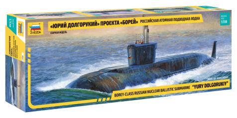 Сборная модель ZVEZDA Российская АПЛ
