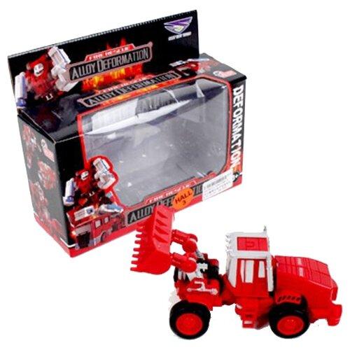 Купить Трансформер Shantou Gepai Робот-погрузчик SY6278B-2 красный, Роботы и трансформеры