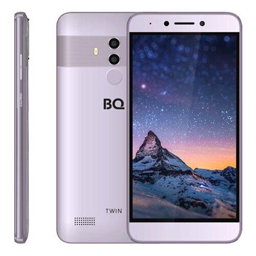 Смартфон BQ 5516L Twin серый смартфон